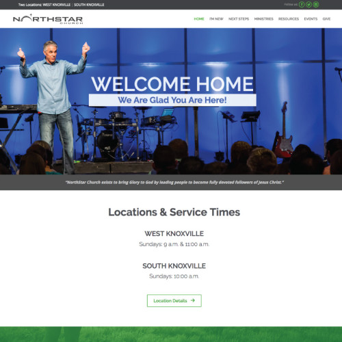 NorthStar Church website
